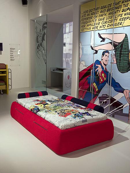 Stunning Superman Bedroom Decor