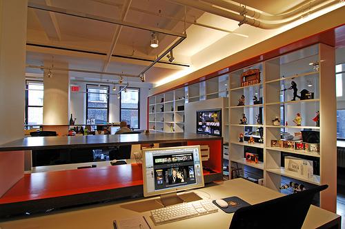 wonderfactory Platz auf dem Schreibtisch