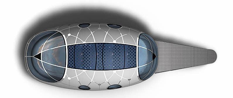Futuristic Pod House Concept