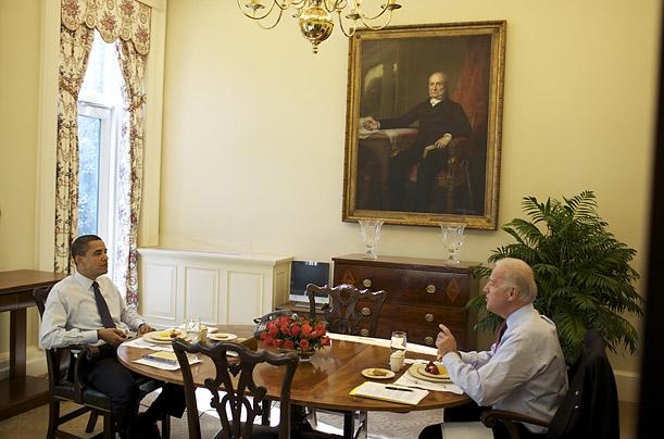 Oval Office Diningroom Interiors