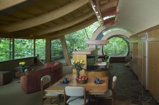 A house amongst trees - Lloyds architecture planning interiors ...