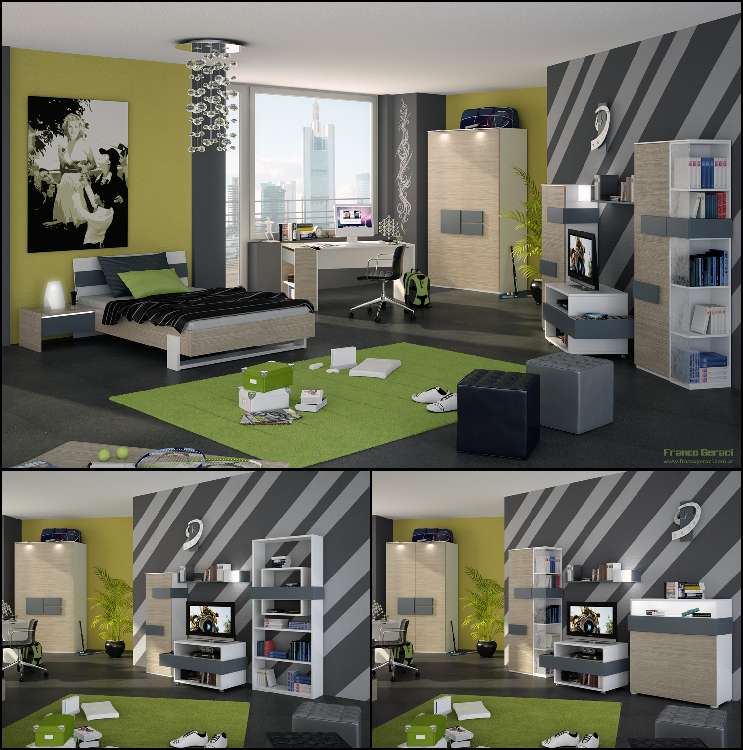 Teenage room designs - Teen boy room ideas ...