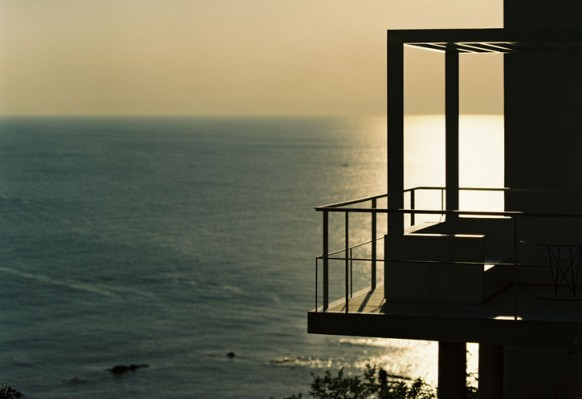 das Meer und der Balkon