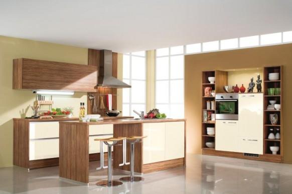 Holz-Küche-Schränke