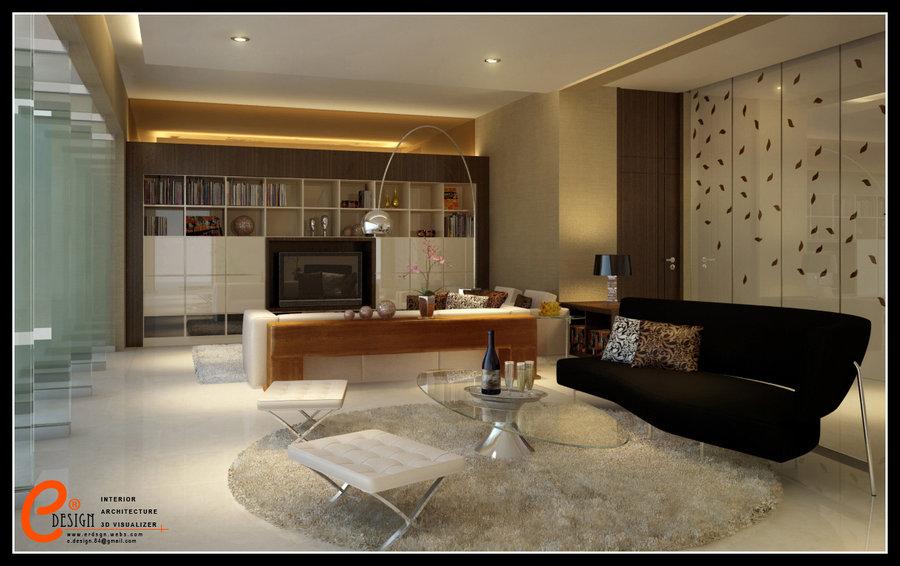 Living room pangandaran by cuanz