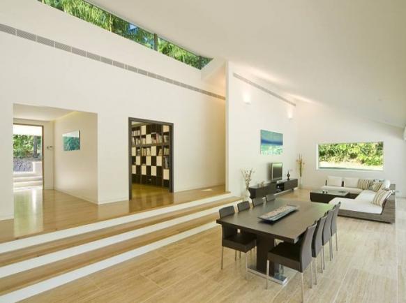 schöne pool-Haus-Interieur