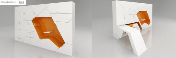 brilliant minimalistisches Stück