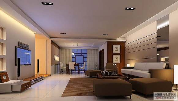 kühle Wohnräume mit tv