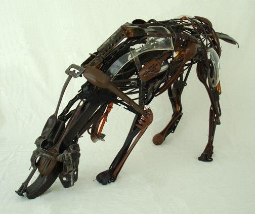Hund recycelt