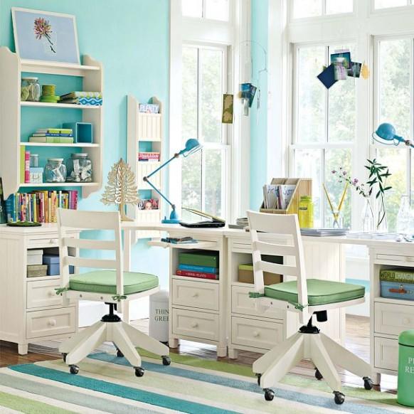 eco freundliches Arbeitszimmer
