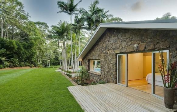 fantastische pool-Haus Hinterhof