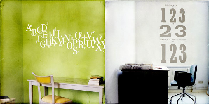 Beautiful Wall Stickers From Harmonie Interieure