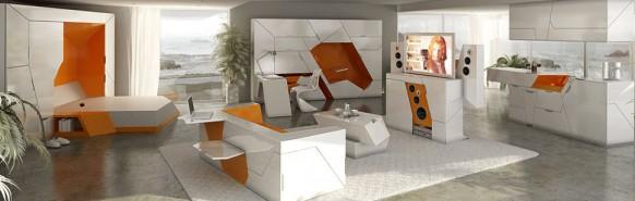 Haus des minimalistischen