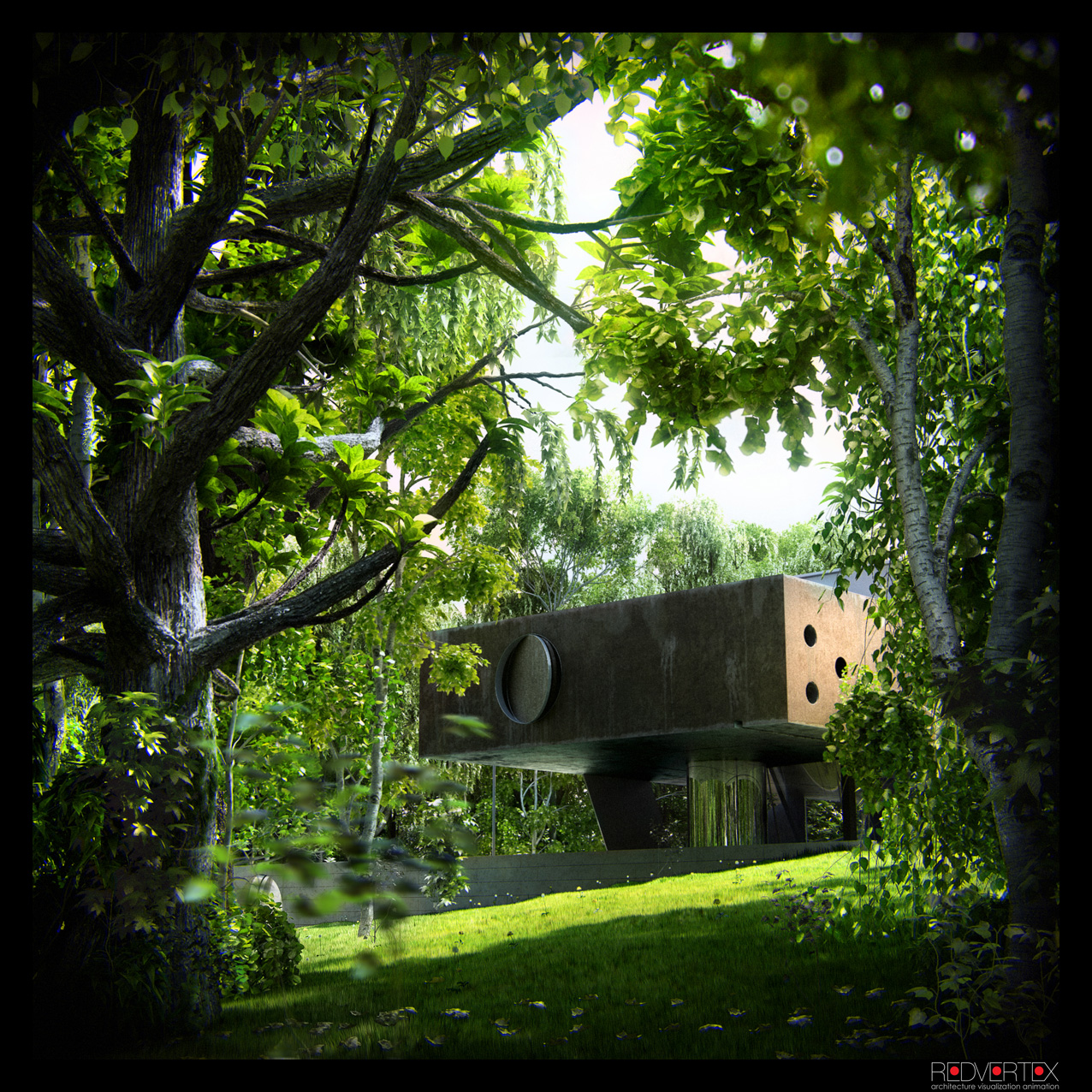3d Exterior House Designs: Amazing Renderings Of Beautiful Houses