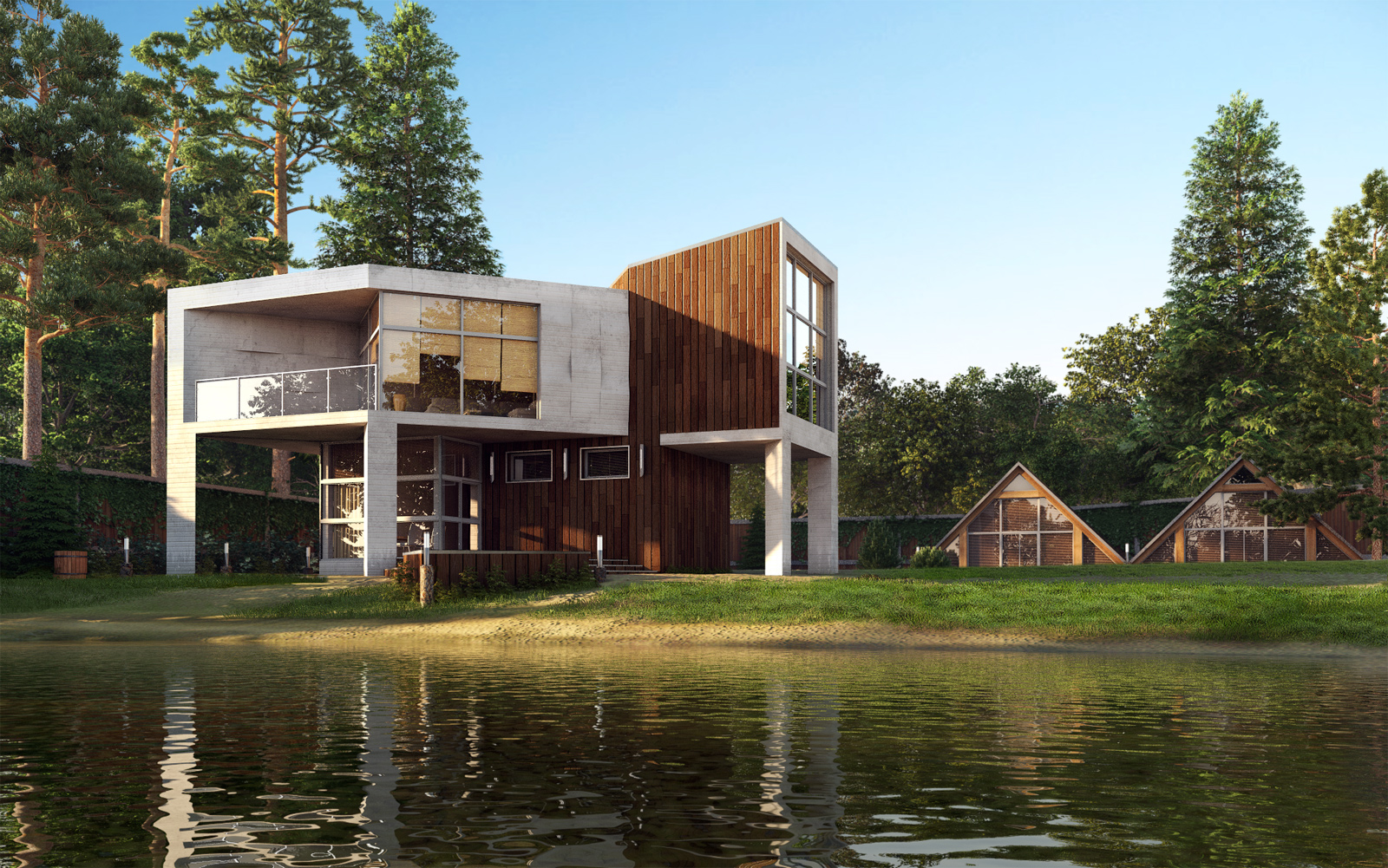 Amazing Mansions Amazing Renderings Of Beautiful Houses