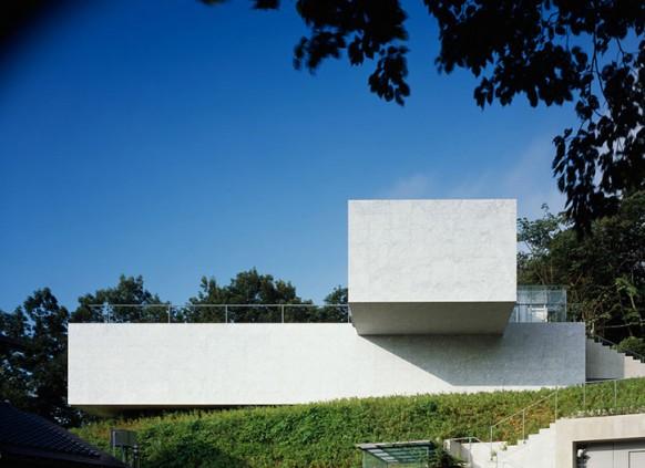 mount fuji architects luftaufnahme