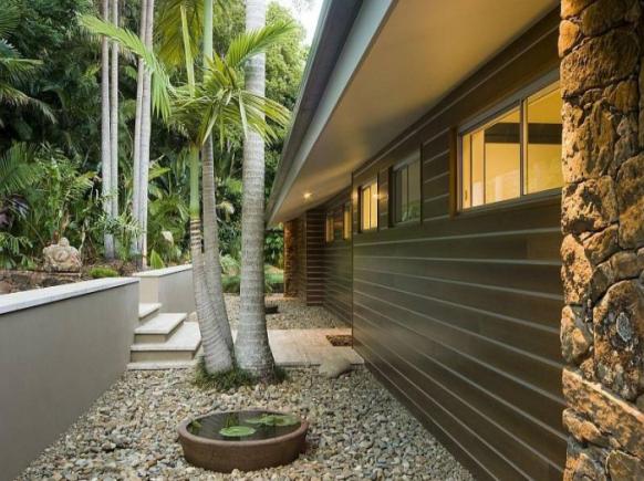 pool house exteriors