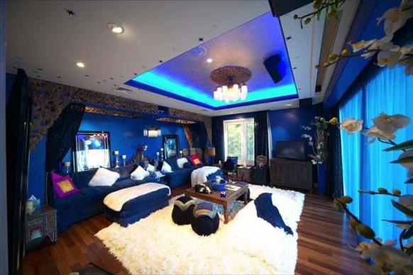 das Blaue Zimmer in der villa