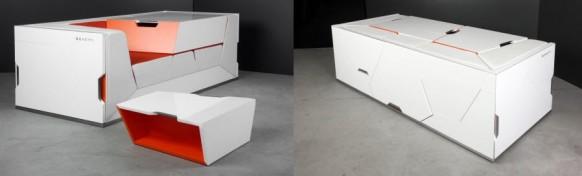 einzigartige minimalistische Möbel