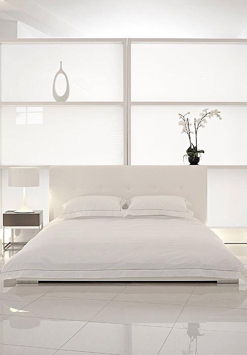 weiß-Schlafzimmer Raum