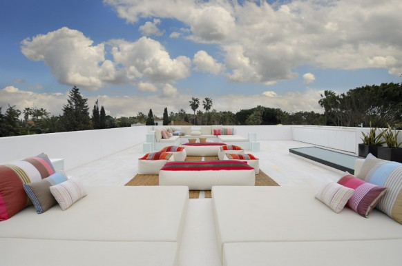 10 erstaunliche weiße Terrasse