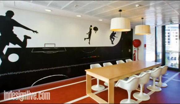 4 google-wunderschöne Büroflächen
