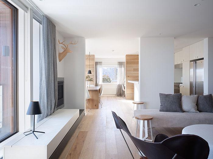 Beautiful Oak Floor And Wall Paneling