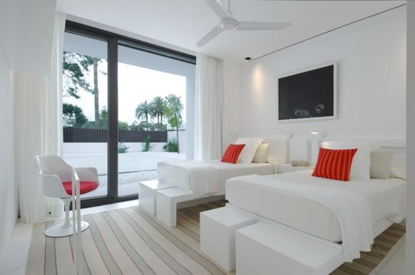 6 schöne weiße Schlafzimmer