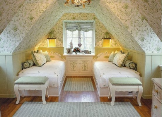Attic Bedroom Ideas: Cool Attic Spaces And Ideas