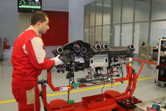 Ferrari-Armaturenbrett