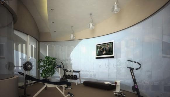 Majumder Fitness-Studio von JLVARGAS