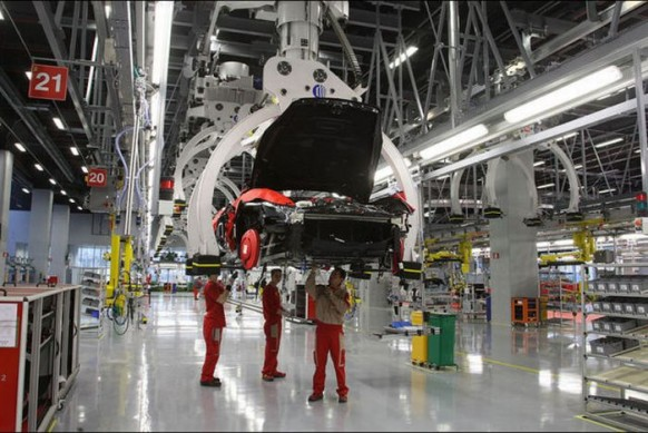 State-of-the-art-Ferrari-Fabrik