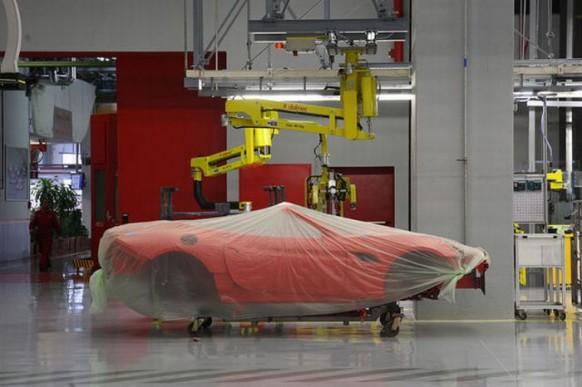 Verschleiert-chassis-Ferrari