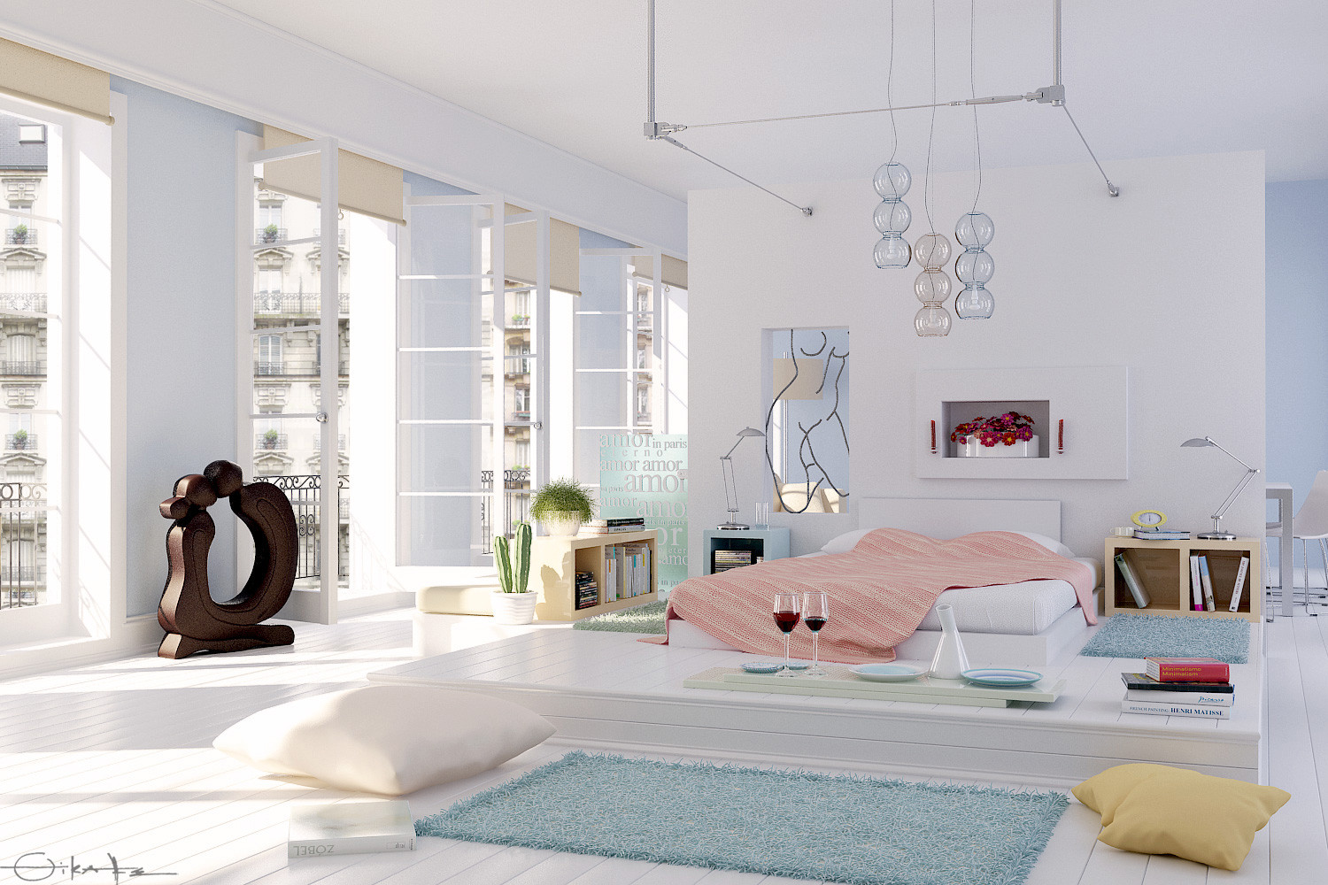 20 Pretty Cool Lighting Ideas For Contemporary Living Room: 10 Drop Dead Gorgeous Bedrooms