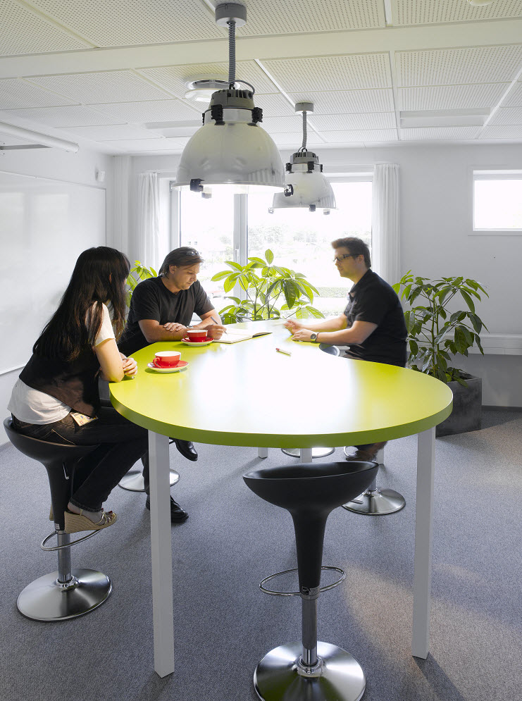 cool office tables designs | Beautiful Offices of LEGO