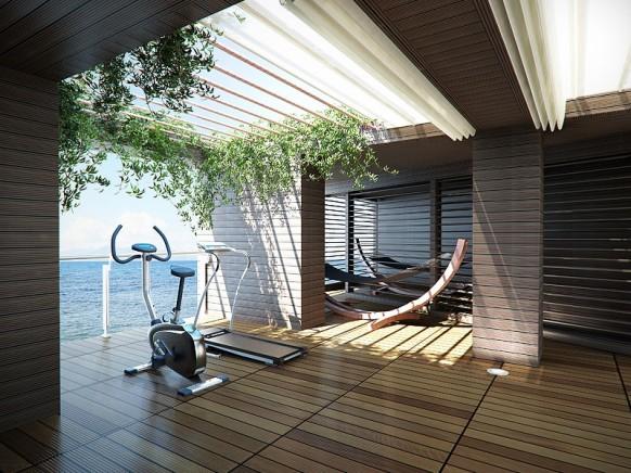 home gym design