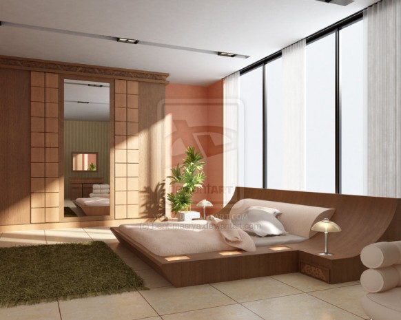 modernes Schlafzimmer von bent masrya