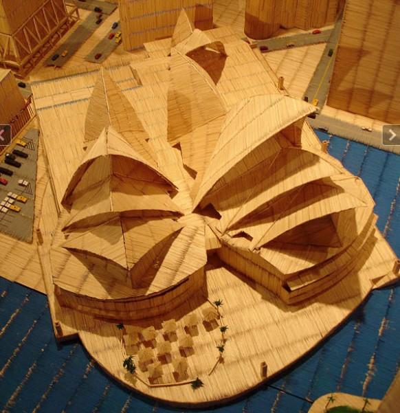 Zahnstocher opera house