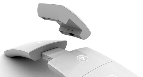 white upgrade modulare Telekommunikations-Gerät