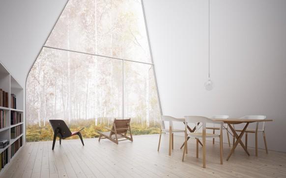 Interieur Wald Kurzurlaub