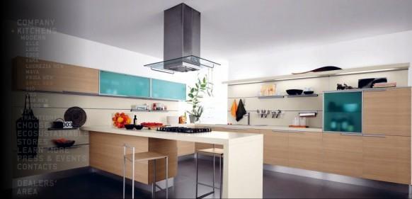 bunte Küche