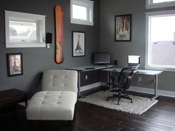 Ecke Schreibtisch