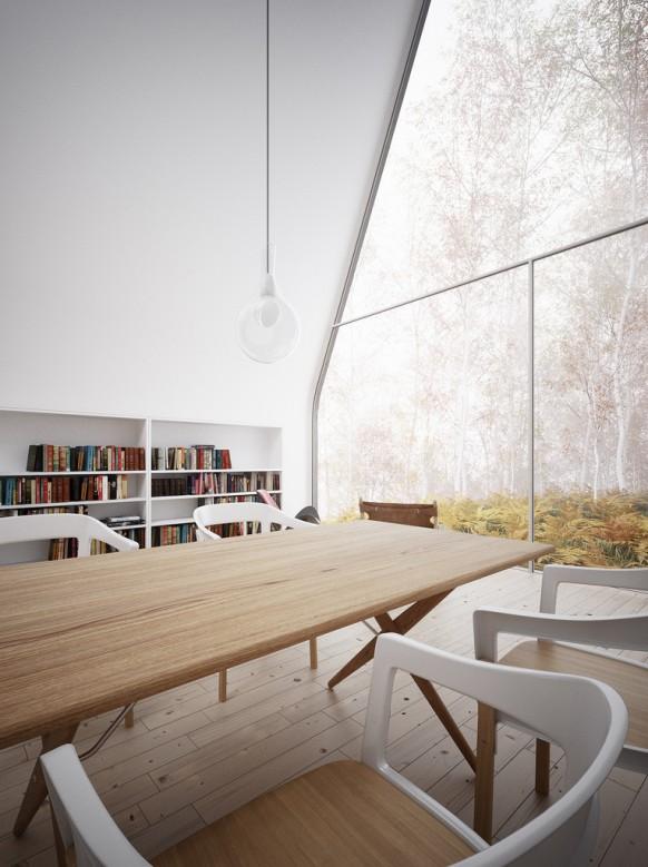 Bibliothek Wald-Kurzurlaub