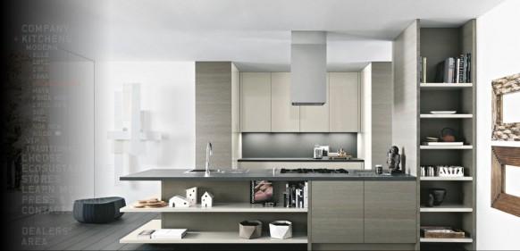 moderne Küche-Grundlagen