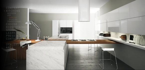 moderne Küche Arbeitsplatte