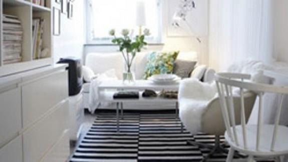 Tranquil scandinavian style interiors