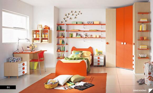 Moderne Kinder-Schlafzimmer
