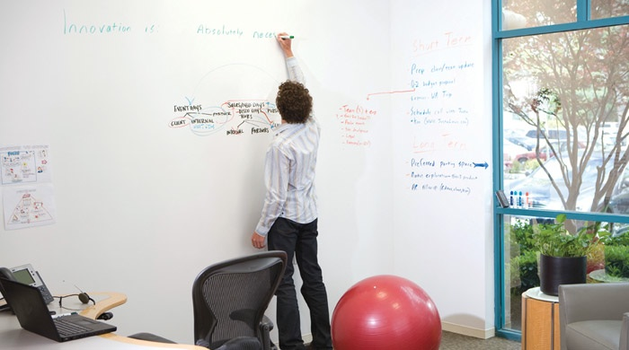 Idea Paint Turn Your Whole Home Into A Big White Board