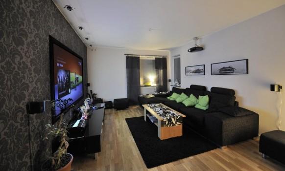 schwarz Wohnzimmer