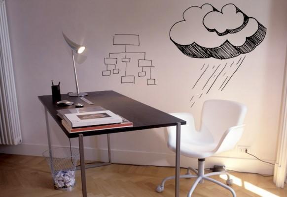 Hausaufgaben Wand